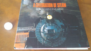 Book: A Celebration of Steam, A Retrospective View, 1987 Kitchener / Waterloo Kitchener Area image 1