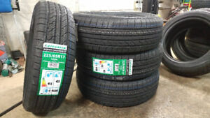 New 225/65R17 all season tires, $430 for 4