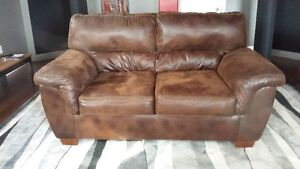 Brown Couch leather like material