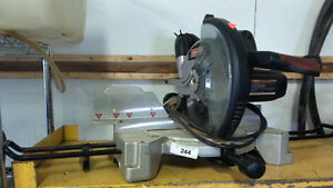 Chop saw, Router, Rototiller, Power washer, Drill Press