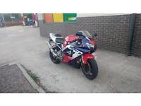 Honda cbr 929 rr fireblade -not quad or ninja - cat c