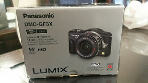 PANASONIC  DMC-GF3X  BODY ONLY NEW