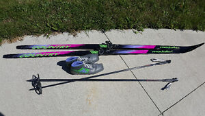 Never Used Cross-Country Skis, Poles and Boots