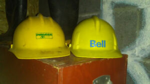 2 hard hats for sale