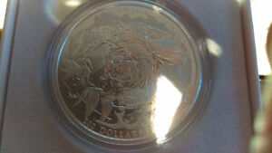 2015 Royal Canadian Mint $200 Pure Silver Coin Coastal Waters