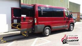 2012 Peugeot Boxer 333 Diesel Wheelchair Disabled Accessible Vehicle