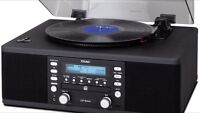 LP R400 Teac lP mini system can Record to CD !