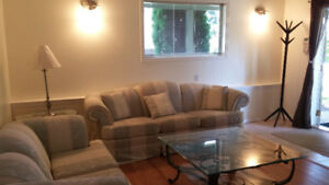 ROYAL ROADS UNIVERSITY / FURNISHED 2 BEDROOM SUITE
