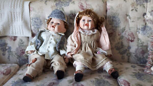 Vanessa Ricardi limited edition porcelain dolls