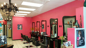 Hair Salon and Spa with Rooms Rental Revenues