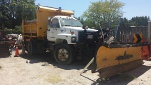 GMC Top Kick Salt Truck & Plow