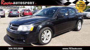 CERTIFIED 2012 Avenger SXT - $104 B/W - NEW TIRES - YORKTON