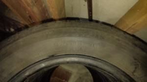 "5 15"" tires....... 4 Michelin 1 Continental 10$ each/all 40$"