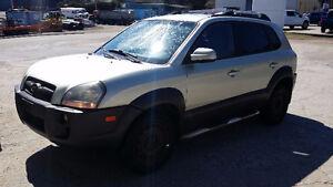 2007 Hyundai Tucson Black SUV, Crossover