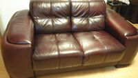 leather couch up for grabs!!!