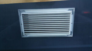 rectangular ventilation grilles 18 in by 9 5/8 in