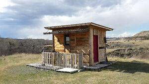 """Pallet Palace "" Cabin Rental"