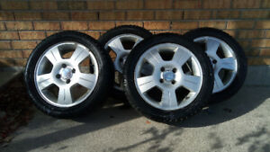 2010 Ford Focus Winter Rims & Tires FOR SALE
