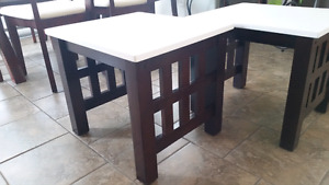 Two matching end / side tables