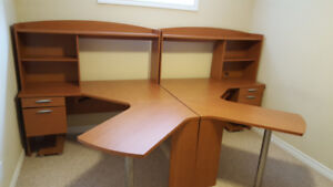 Two desks and two Chairs