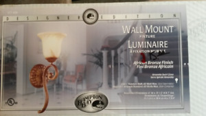 Wall Mount Fixture by Hampton Bay - new in box