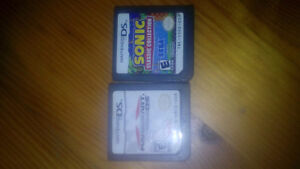 Mario Kart DS and Sonic Collection DS