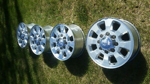 4 Factory GM 8 Bolt Rims
