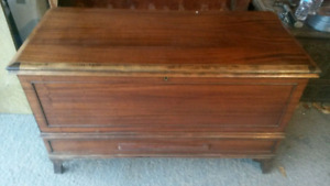Antique Cedar Hope Chest or Blanket Chest