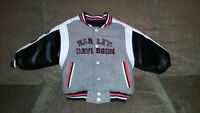 Authentic Harley Davidson boys 2T reversible jacket