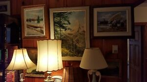 Vintage ART SALE Quality oil paintings various artists West Island Greater Montréal image 5