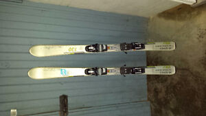 Youth downhill skis 130 cm