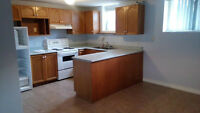 Large 2 bedroom apartment in triplex