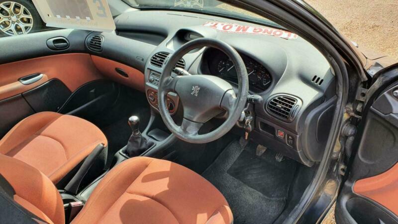 2004 Peugeot 206 1.4 Fever 3dr HATCHBACK Petrol Manual