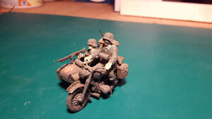 1/35 WWII German Vehicles Assembled & Painted - Lot 3