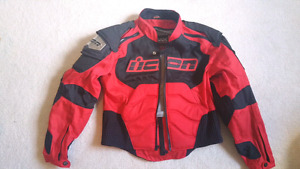 Icon Mens Textile Timax Motorcycle Jacket