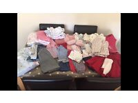 6-9 months baby girls clothes bundle