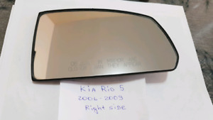 Miroir Kia Rio5 2006-2009 Elec, original Right Side 30$