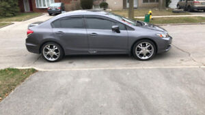 Summer tire and rim fo$699