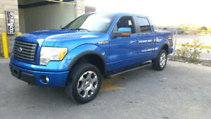 2012 Ford F-150 SuperCrew FX4 Pickup Truck 5.0Ltr V8