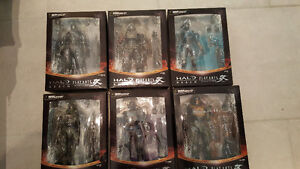 Halo Reach collectible figures (Full collection!)
