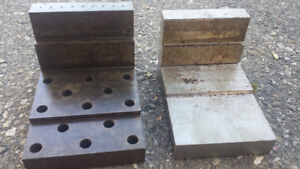Angle plates for Machinist or Tool maker