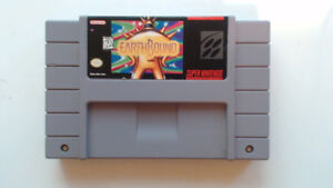 SNES Earthbound Authentic Cartridge