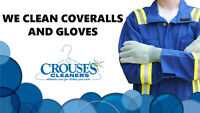 We Clean Coveralls and Gloves