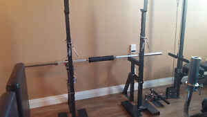 NORTHERN LIGHTS SQUAT STANDS With Spotter Attachment