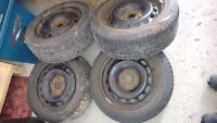 """5x114.3 Wheels and tires Package 16"""" - CHEAP!"""