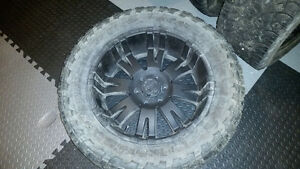 Pro Comp 20 inch rims and tires Ford F150
