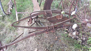 Vintage carriage axles  and springs