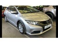 2013 Honda Civic 1.8L I-VTEC ES 5d 140 BHP Hatchback Petrol Manual