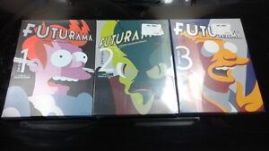 Futurama Volumes 1,2 & 3. - 11 Discs