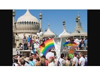 GAY PRIDE BRIGHTON 6TH AUG